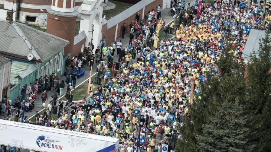 """""""Крила за живот"""" събра над 101 хиляди души в целия свят"""