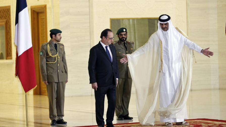 "Франция и Катар подписаха договор за 24 изтребителя ""Рафал"""