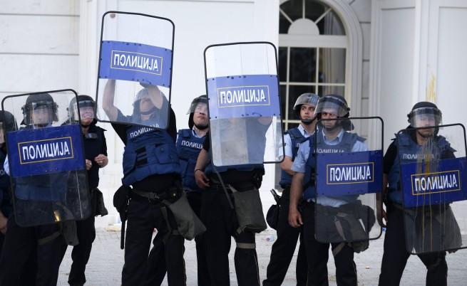 ЕС изрази съжаление за инцидентите по време на протеста в Скопие