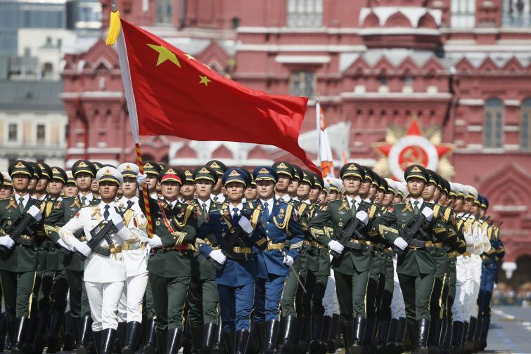 Парад Червения площад Деня на победата