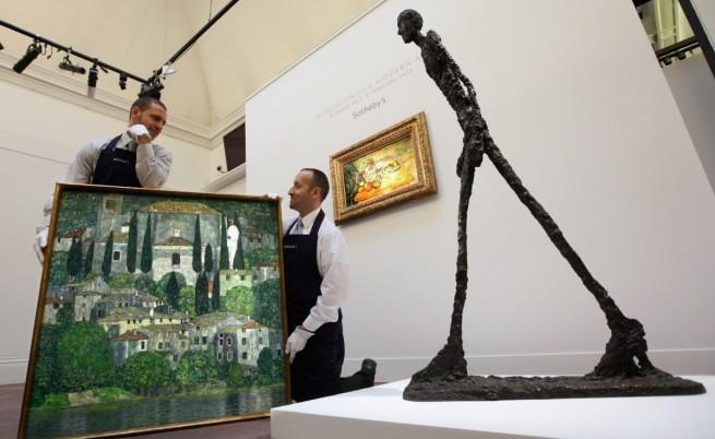 Картина на Пикасо и скулптура на Джакомети отиват на търг