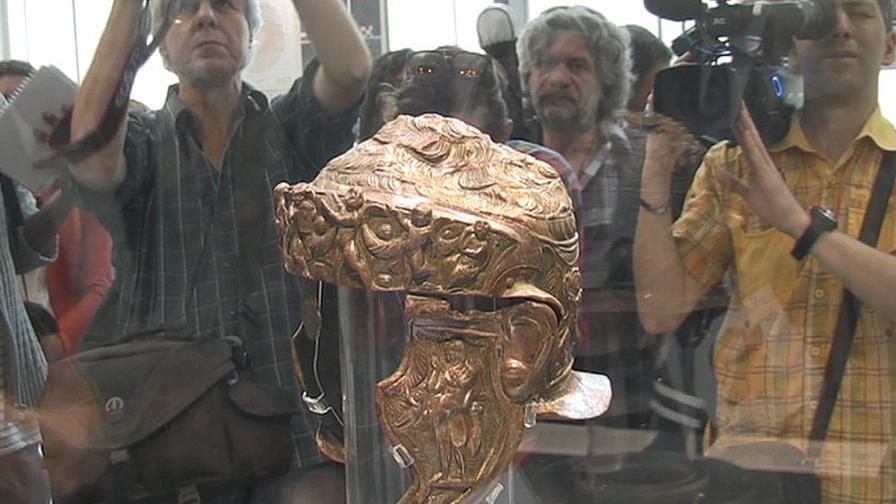 В Пловдив показват уникален тракийски шлем