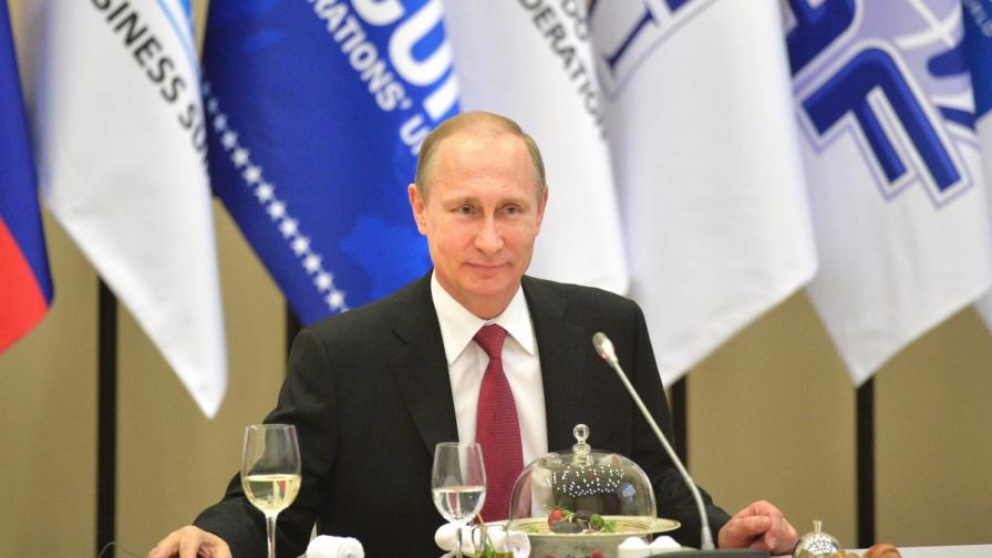 За какво говори Путин на неофициални обеди