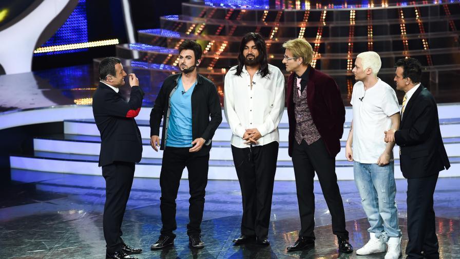 """Ненчо, Азис, Фицата и Криско на финал в """"Като две капки вода"""""""
