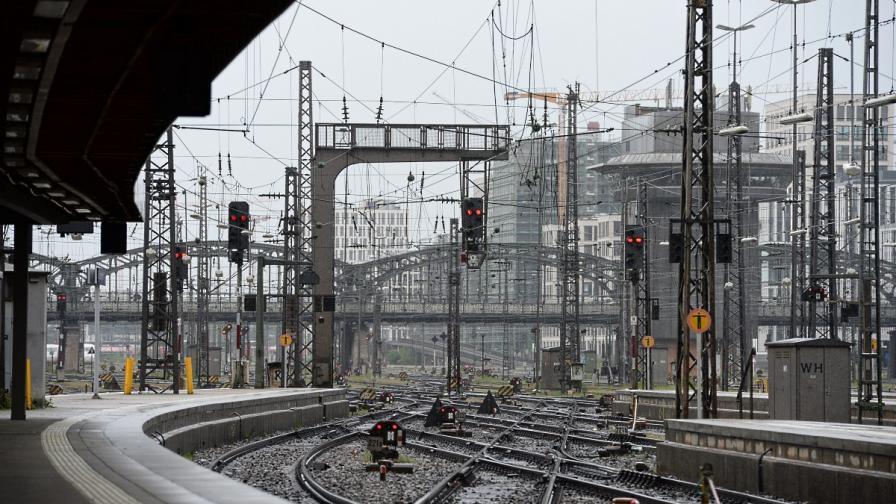 Нова стачка парализира германските железници