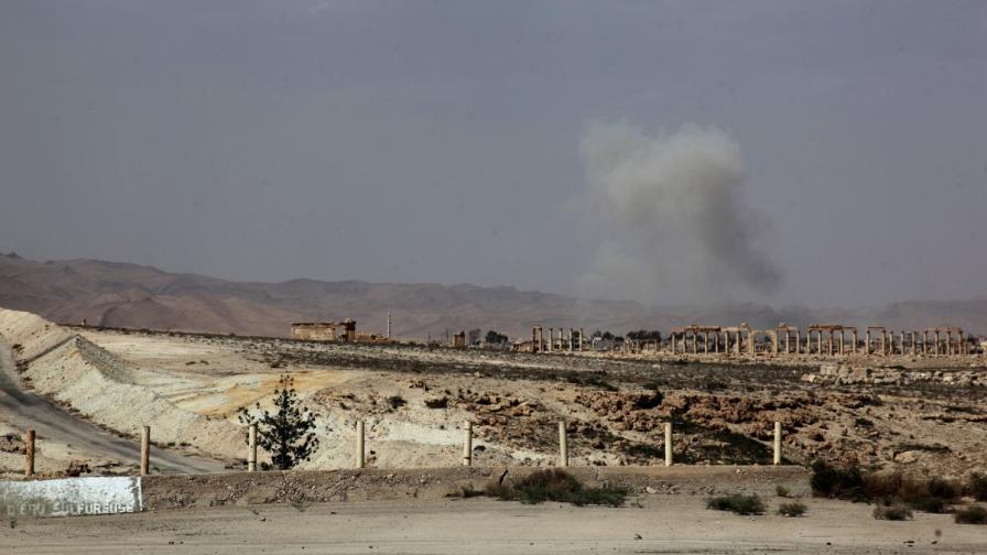 """В сряда """"Ислямска държава"""" превзе Палмира"""