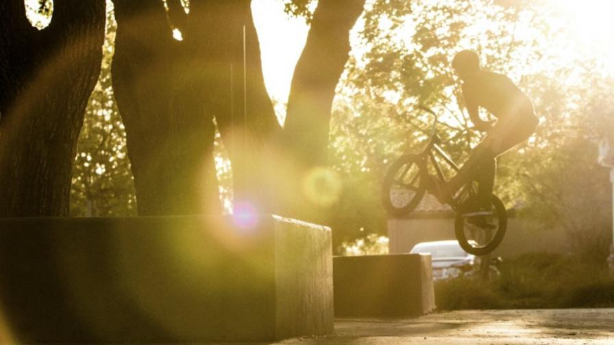 Гарет Рейнолдс и BMX (видео)