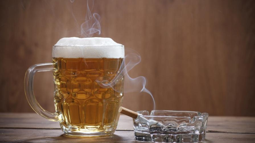 Пиенето и пушенето не пречели след 7-часов сън