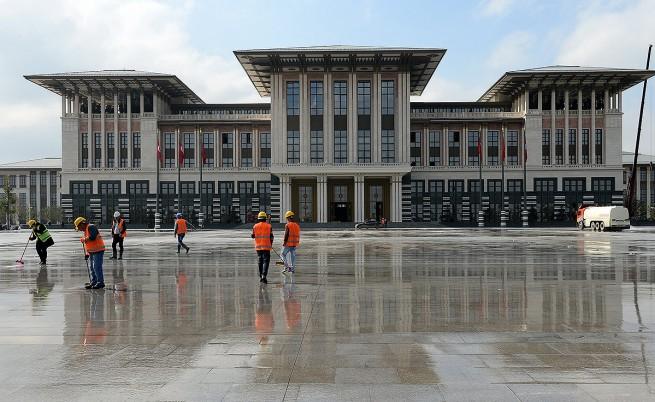 Турският ВАС: Дворецът на Ердоган е построен незаконно