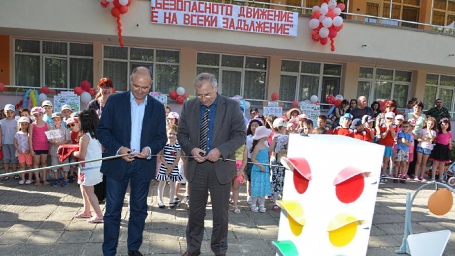 "Бензиностанции ЕКО дариха площадка за пътна безопасност на детска градина ""Биляна"" в Ямбол"