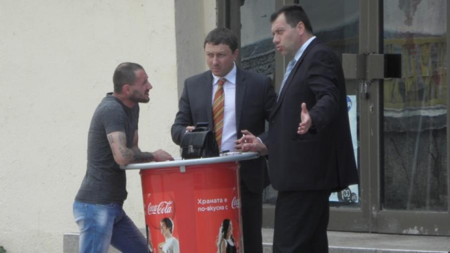 Задържаха един от водачите на протеста в Гърмен