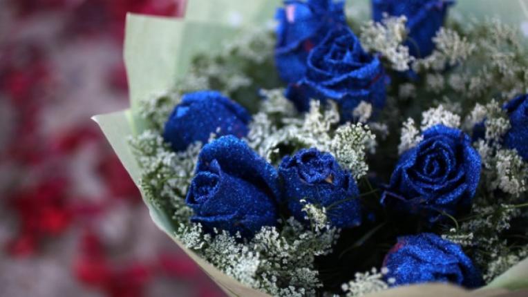 А вие как реагирате когато любимият ви подари цветя