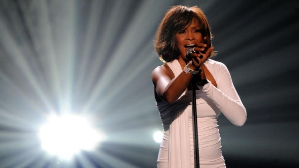 Уитни по време на Американските музикални награди през 2009-та