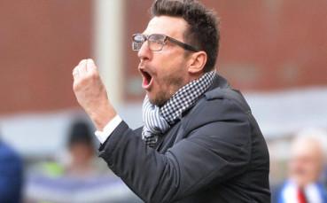 Ди Франческо остава начело на Рома