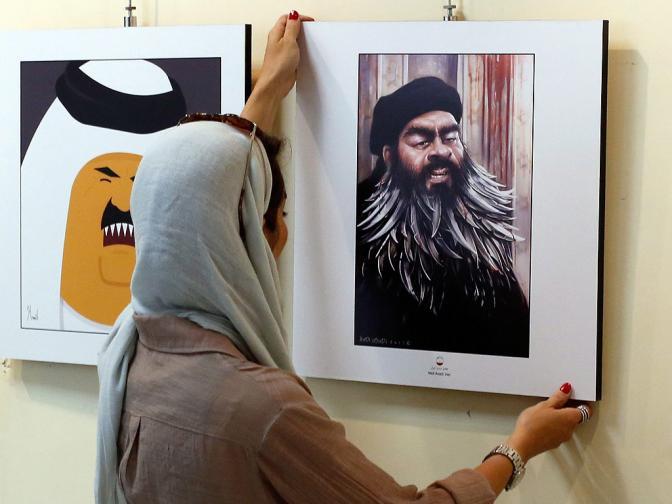 Карикатуристи карикатура осмиваща Ислямска държава