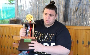 Аоияма с пета победа на турнира по сумо в Токио