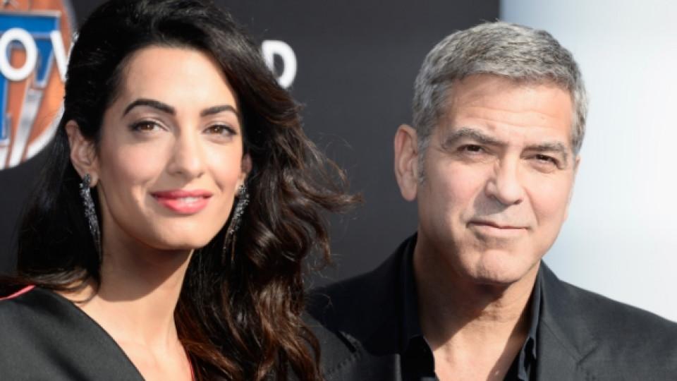 Джордж Клуни и Амал Аламудин-Клуни