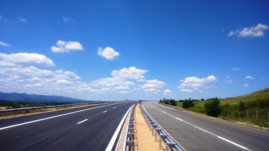 """Пускат новото дясно платно на магистрала """"Марица"""" в неделя"""