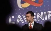 Кралят на Испания на финала на Лига Европа