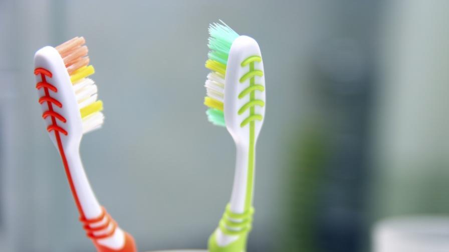Какви видове бактерии полепват по четките за зъби