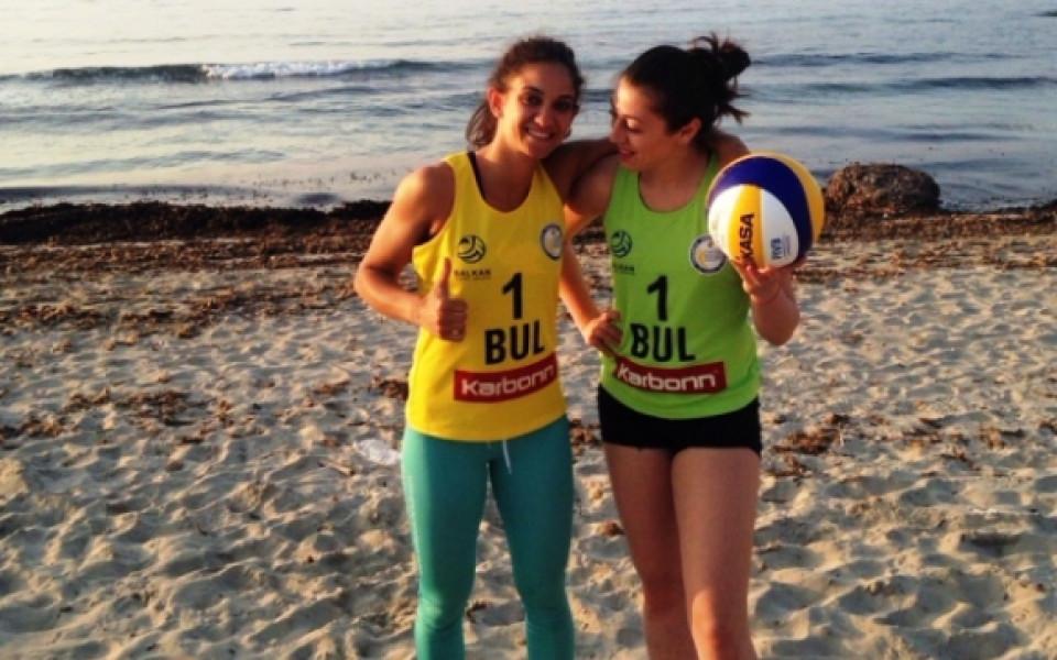 Ангелова и Мишонова с втора загуба на турнира по плажен волейбол в Баку