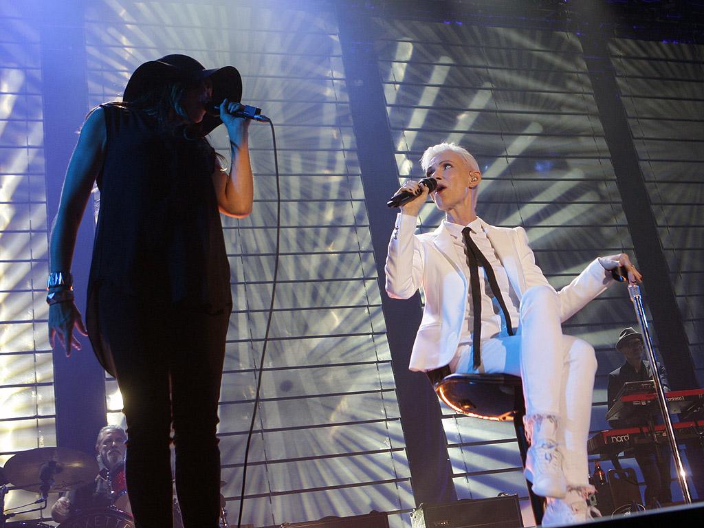 <p>Концерт на шведското супердуо Rоxette, 17 юни 2015 в Арена Армеец в София</p>