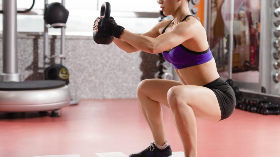Учени: Вдигането на тежести е полезно за костите