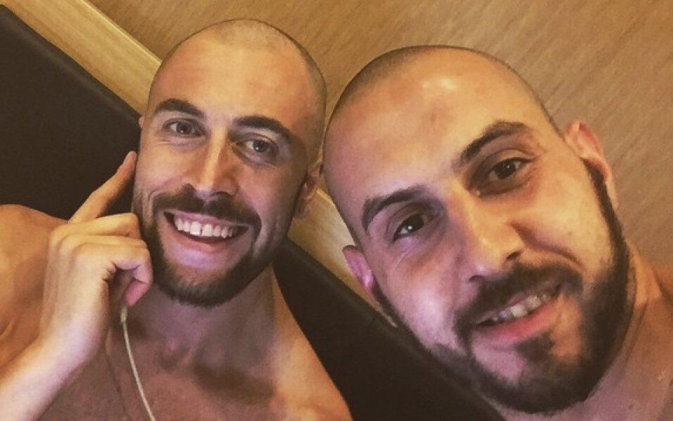Волейболистите с нова визия в Баку