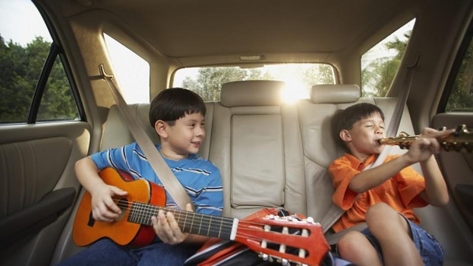 Освен ако децата ви не са музикални гении, не им давайте инструменти