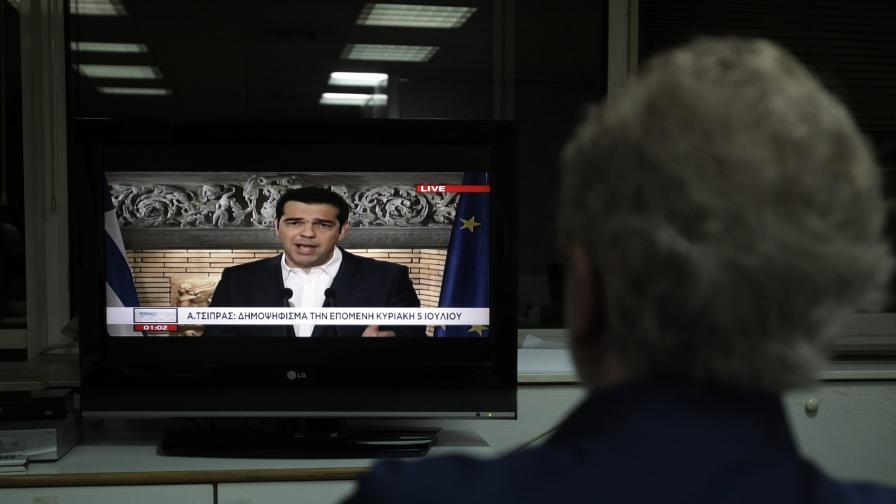 Гърция ще проведе референдум за спасителния план