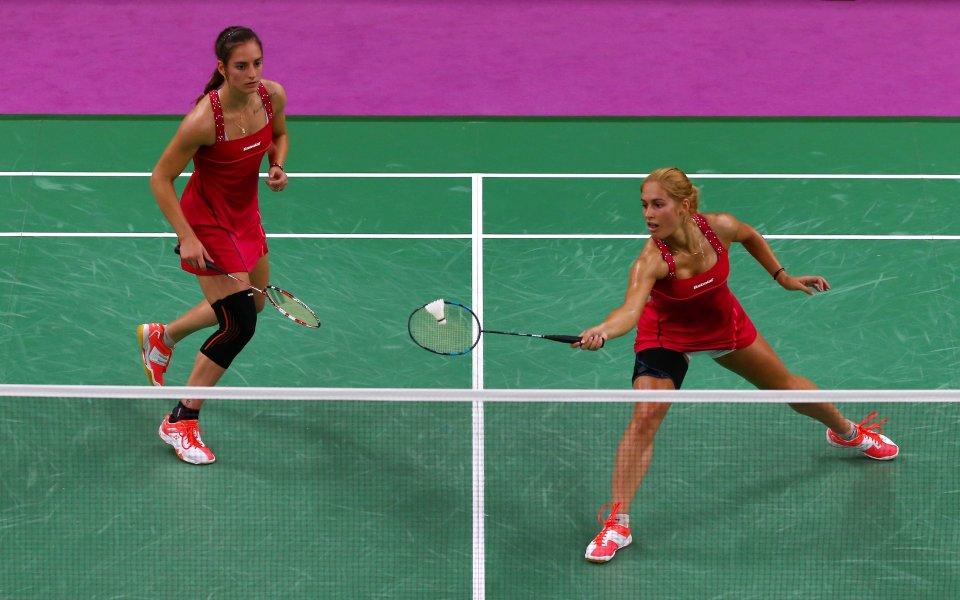 Стефани и Габриела Стоеви стигнаха трети кръг на Световното по бадминтон