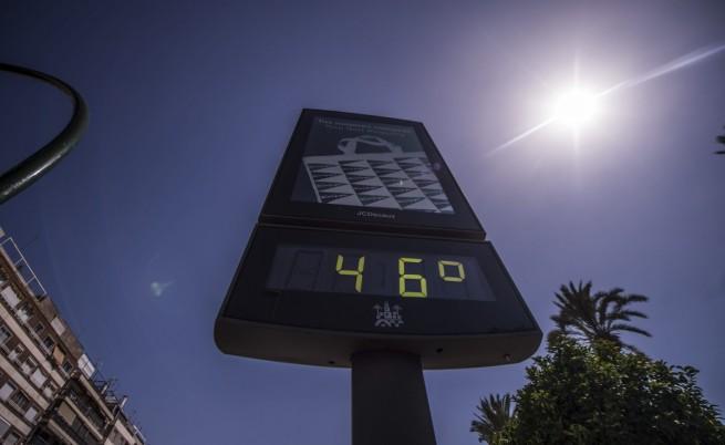 Опасни горещини в Западна Европа