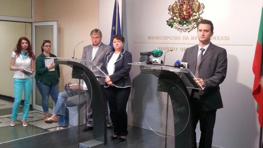 Зам.-министърът на икономиката Жечо Станков