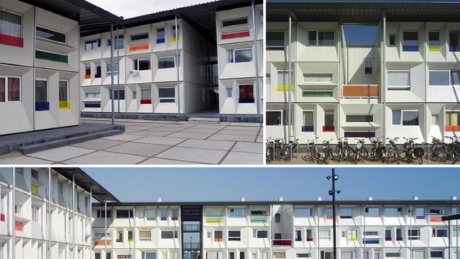 Строят първия хотел от контейнери у нас