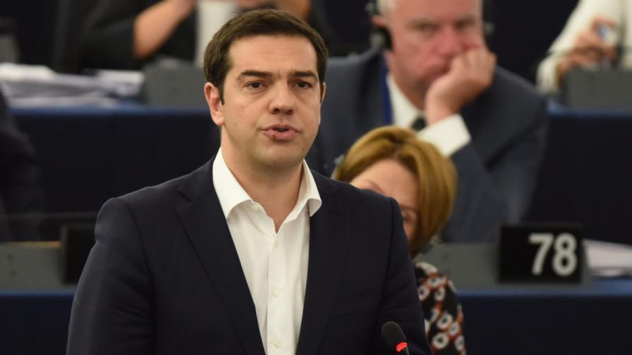Ципрас пред ЕП: Гърция бе лаборатория за експеримент