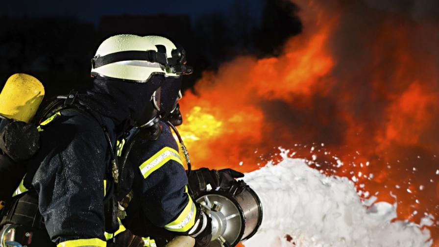 Пожарът край Слънчев бряг предизвикан от къмпингуващи