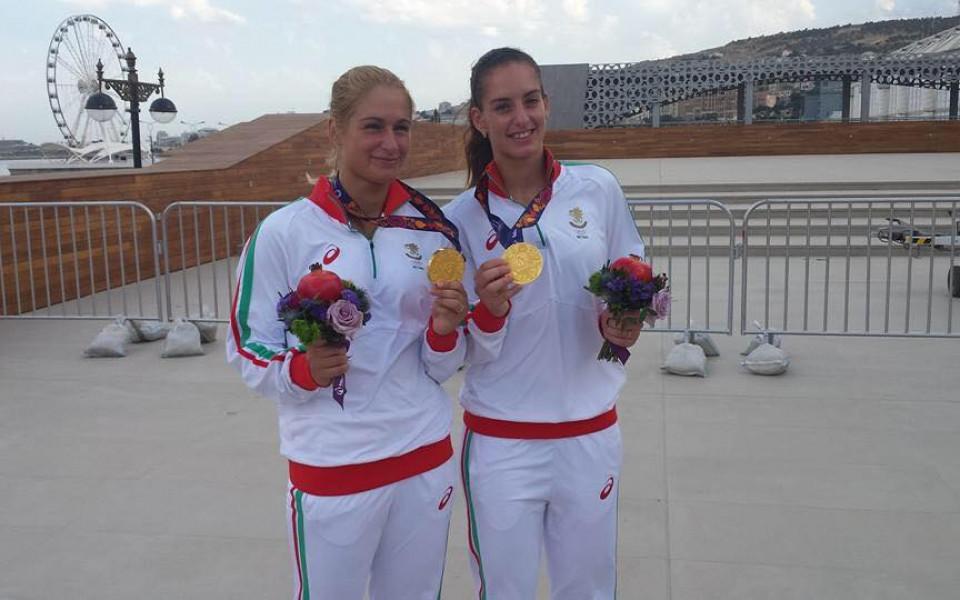 Сестри Стоеви на полуфинал в Германия