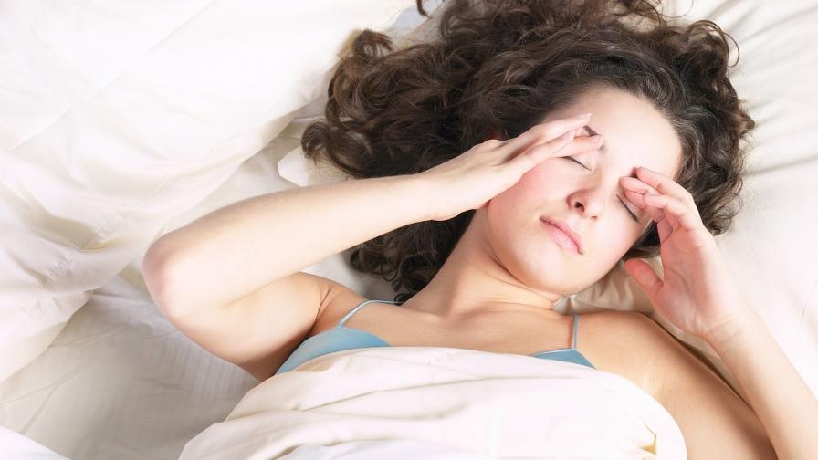 Как да заспим, когато е прекалено горещо