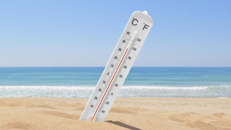 Жълт код за горещо време в 21 области в неделя