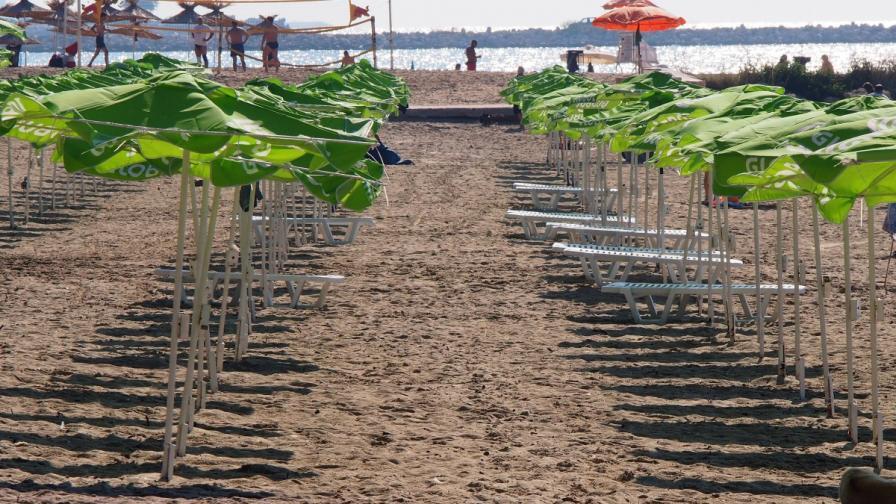 Такса и за хавлия между шезлонгите на плажа у нас