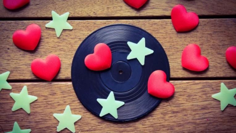 звезди сърце любов звезда