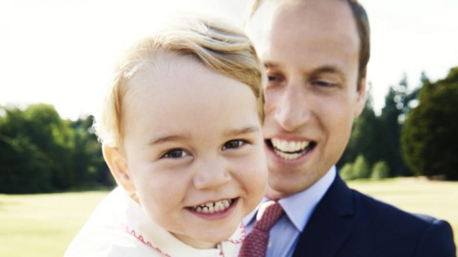 Принц Джордж навършва 2 годинки