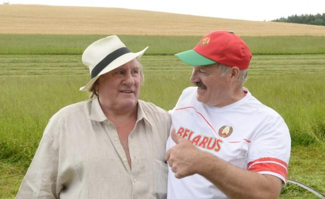 Депардийо: Франция да се поучи от Беларус