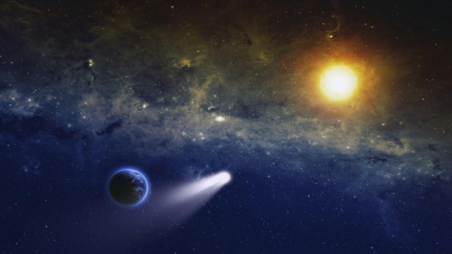 Комета, а не астероид, е унищожила динозаврите