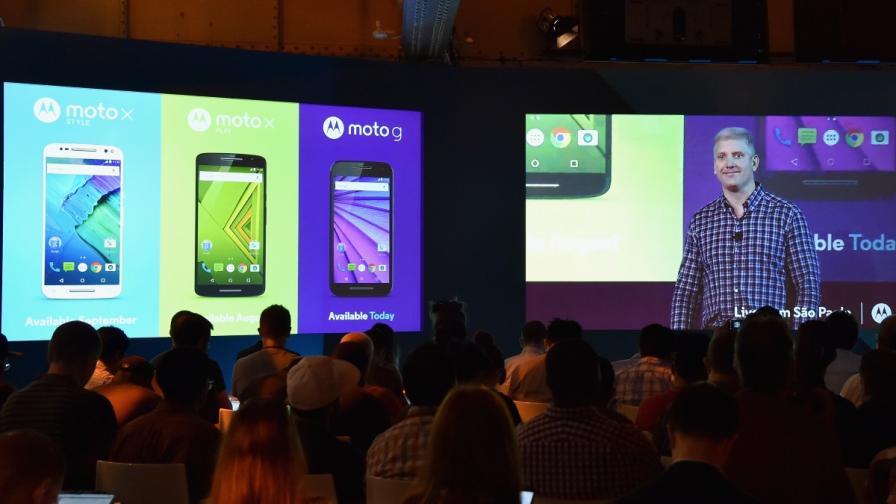 """""""Моторола"""" показа новите Moto X и Мото G"""