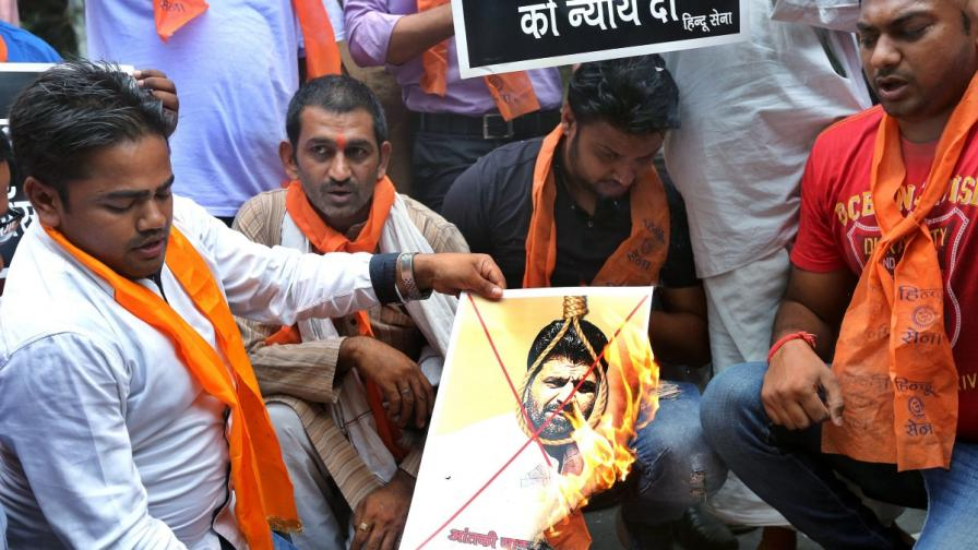 В Индия екзекутираха терориста Мемон