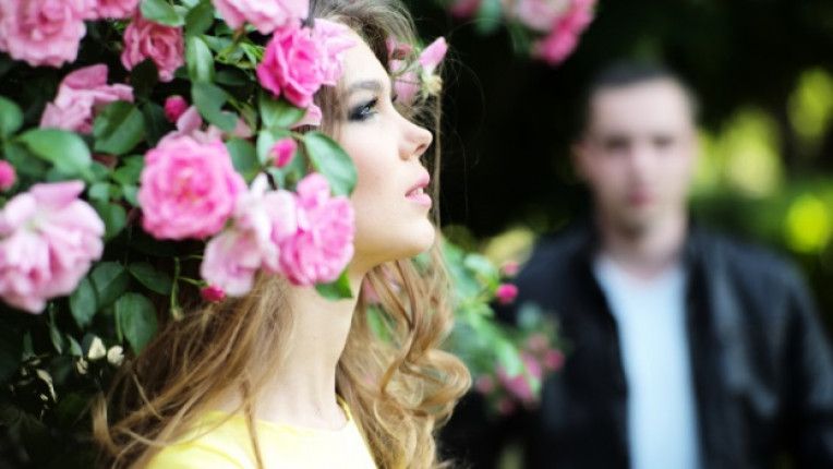 жена романтика нежност красота цвете