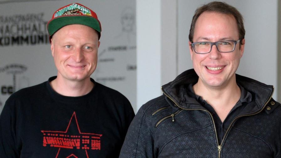 Двамата журналисти от Netzpolitik.org