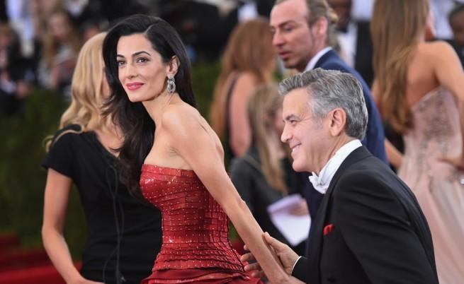 Амал Клуни и Джордж Клуни