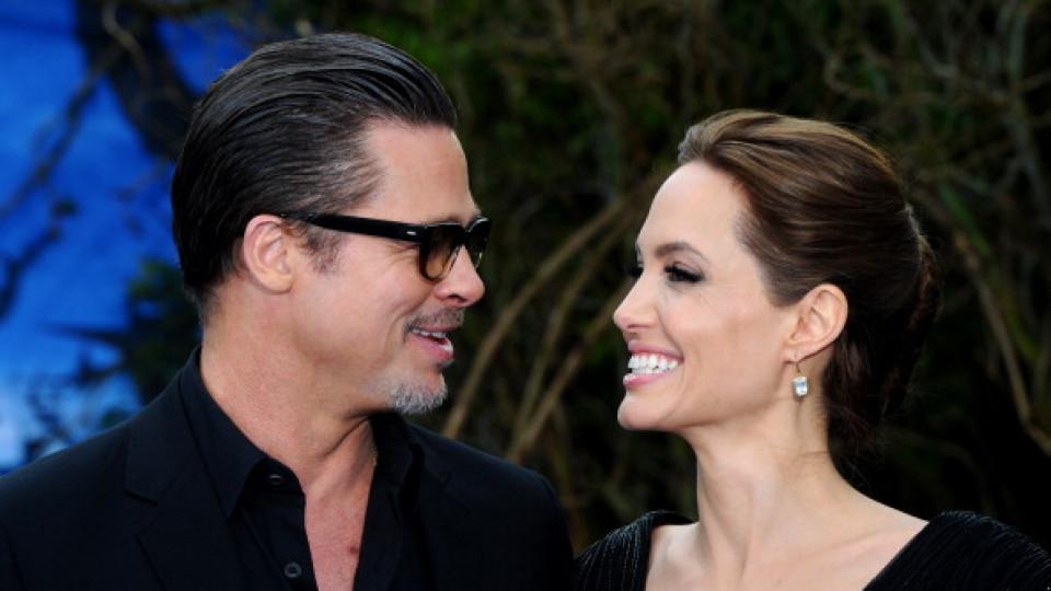 Първите кадри от новия филм на Брад и Анджелина